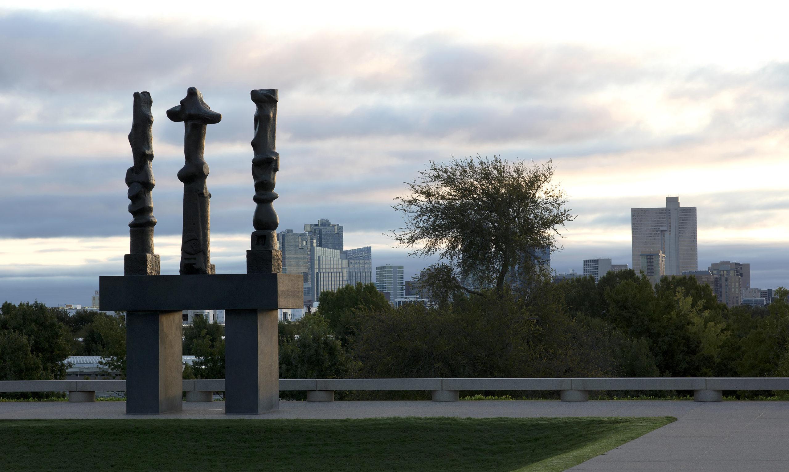 Amon Carter - Untitled sculpture
