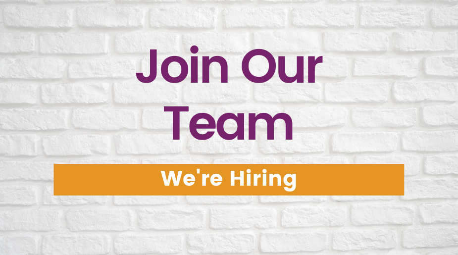 Join our team. We're hiring.