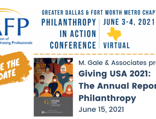 June 2021: Two Important Events for Fundraisers