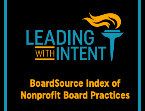 New for 2021 – Leading with Intent: BoardSource Index of Nonprofit Board Practices